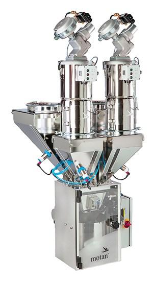 Mezclador para bajas dosis en máquinas pequeñas