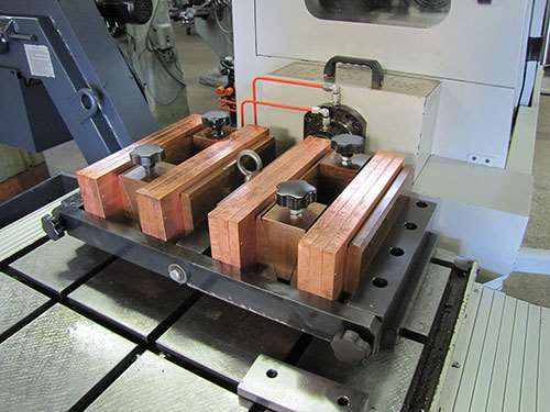 custom workholding fixture