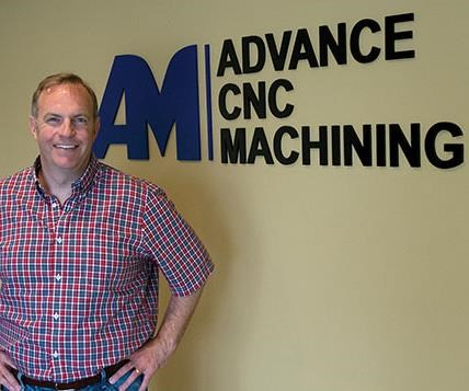 Jeremy Hamilton, President and owner of Advance CNC Machining
