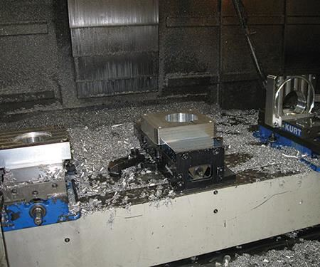 machining multiple faces of the same part