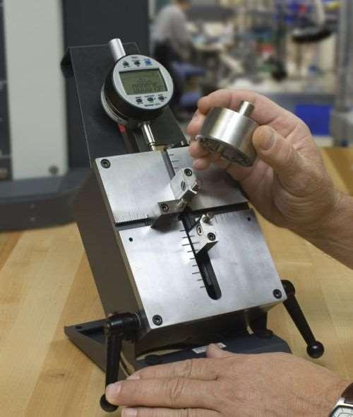 factory-set digital indicator
