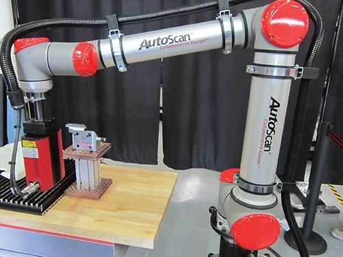 perceptron autoscan robot laser scanner