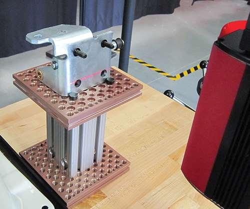 perceptron robotic laser scanner