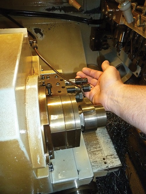 Citizen L20 Swiss-type lathe with TriboMAM