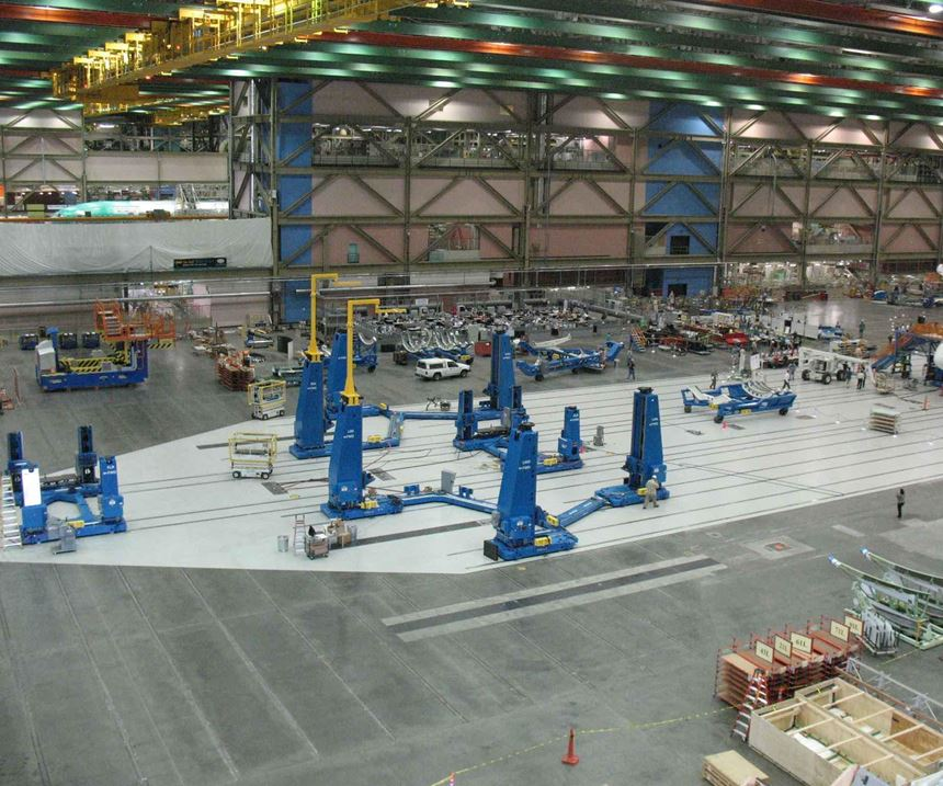 Boeing's Final Body Join (FBJ) Assembly Line