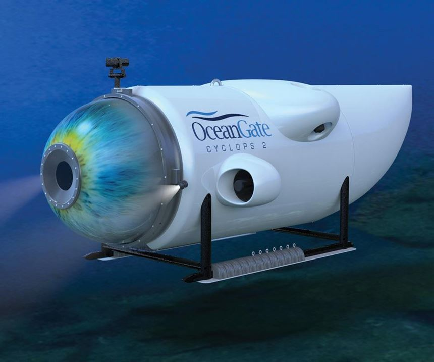 OceanGate's (Seattle, WA, US) Cyclops 2 five-person submersible