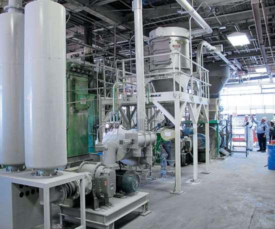 plastics material conveying