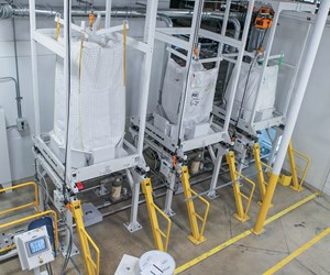 dilute phase vacuum conveying