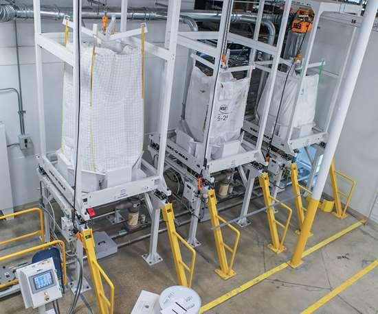 bulk bag unloader