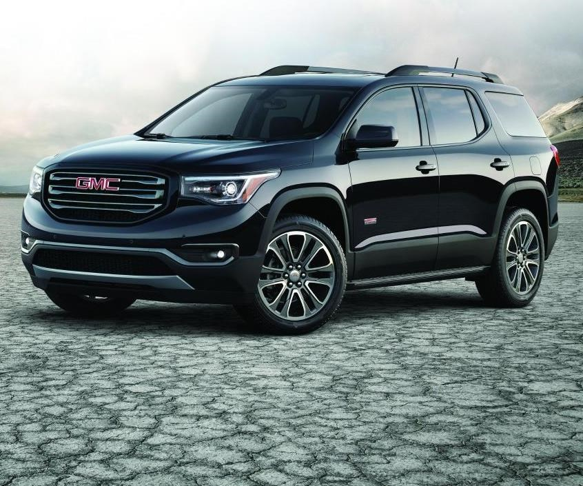 """The 2017 GMC Acadia is all-new, a smaller three-row crossover than the vehicle it replaces. According to Matt Noone, GMC's director for exterior design, they worked to develop a vehicle that is more stylish and sophisticated, while staying within the """"Professional Grade"""" category that is characteristic of the brand."""