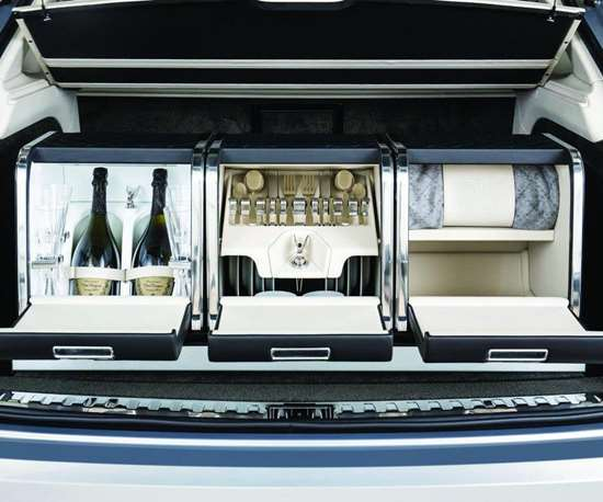 The optional picnic package adds $28,000 to the cost of the vehicle.