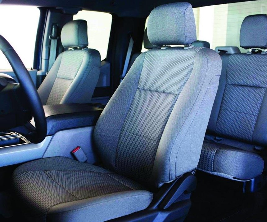 It is hard to imagine that the fabric used for these seats were once things like soda bottles, but Ford is using REPREVE on several of its models, and the material is a family of polyester and nylon fibers from recycled polyethylene terephthalate (PET) bottles.