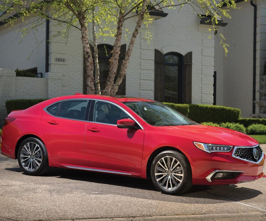 The 2018 Acura TLX was styled in Torrance, California, engineered in Raymond, Ohio, and is being manufactured in Marysville, Ohio.