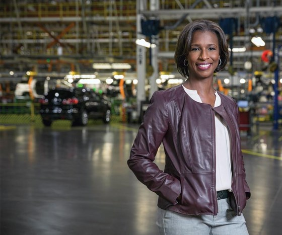 GM executive vice president of Global Manufacturing, Alicia Boler Davis, says that financial and environmental benefits are being achieved by the automaker through its participation in the EPA ENERGY STAR program. (Photo: John F. Martin)