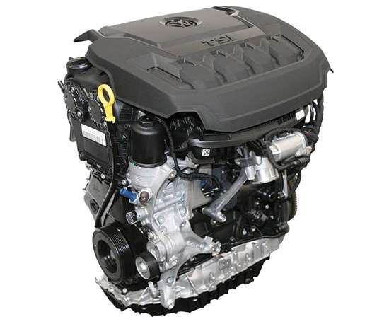 The new 2.0-liter TSI EA888 four-cylinder engine that's being used in the 2018 VW Tiguan uses the Budack cycle, which improves fuel efficiency while increasing torque.