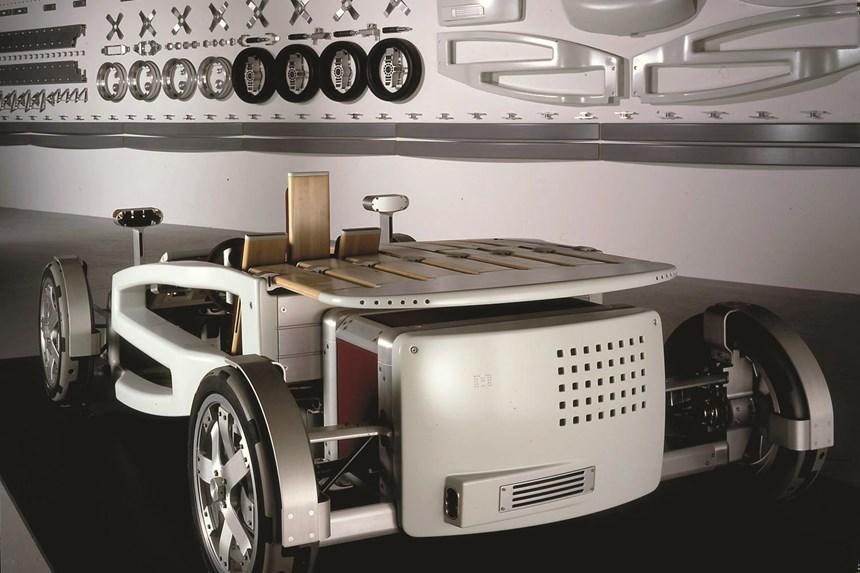 The Ford MA concept, designed by Jose Paris. (Photo: joseparis.com)