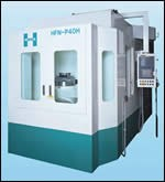 Horkos Corp. Horizontal machining center