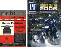 Comparison of the first issue of Products Finishing