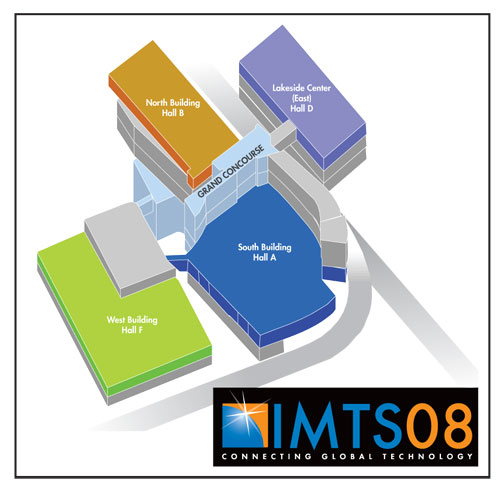 The MyMap feature on IMTS.com allows users to build a custom floor plan.