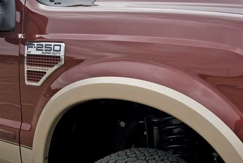 Wheel-lip Molding on Truck