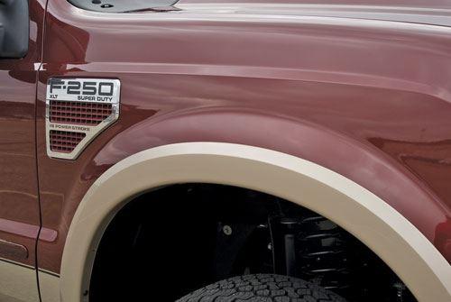 Wheel-lip Molding on Truck