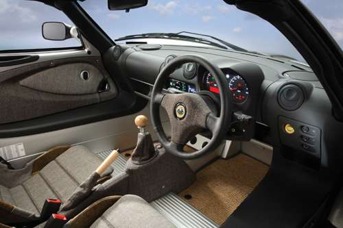 Lotus ECO Elise interior 1