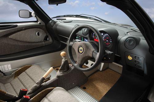 Lotus ECO Elise interior 1