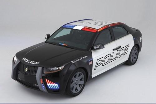 Carbon Motors Carbon E7 police car