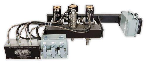 Unitized electric valve gate