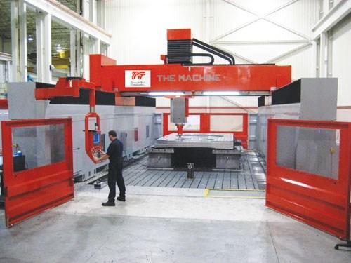 Five-axis machine