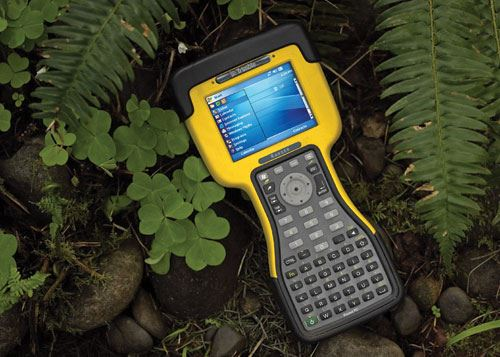water proof hand held computer and GPS unit