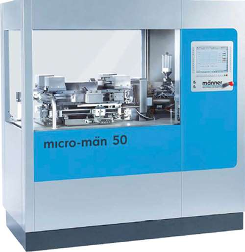 micro-molding machine from Manner Group