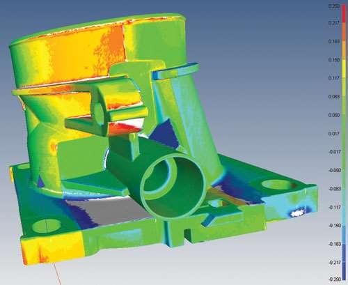 part to CAD comparison