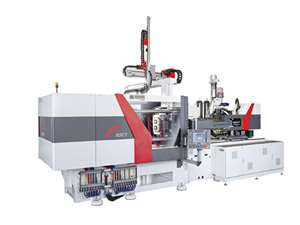New F-Series injection molding press from Ferromatik Milacron