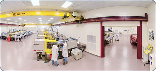 Medical clean room injection molding at Vision Technical Molding