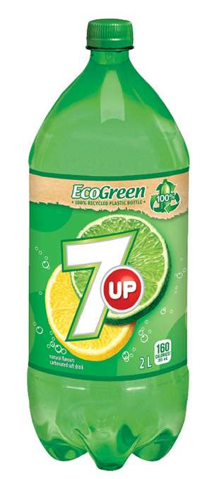 PepsiCo EcoGreen Bottle of 100% recycled PET