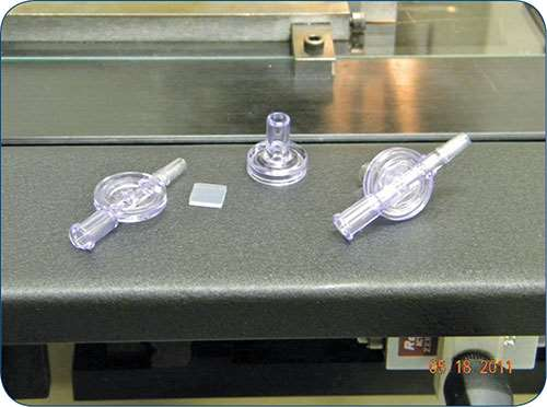 another demonstration of the superior accuracy of servo ultrasonic welding