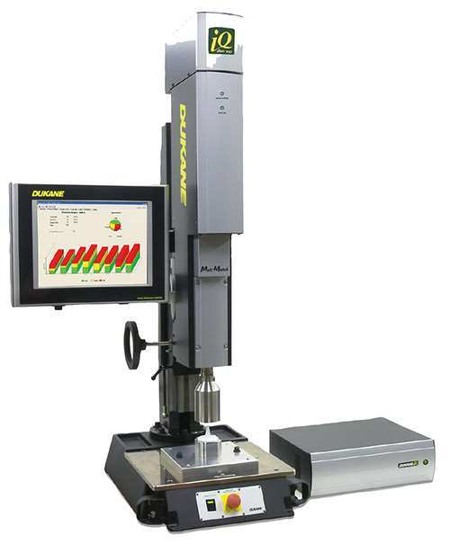 Dukane's iQ Series servo ultrasonic welder