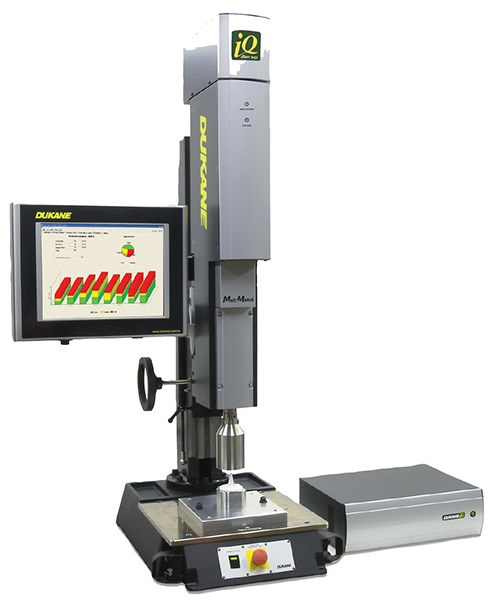 Dukane's iQ Series servo ultrasonic welder