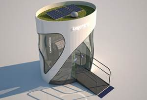 """Composite booth: ATM delivers """"green"""" in more ways than one"""
