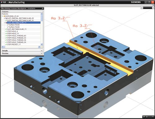 feature based machining