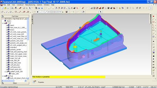 aerospace 3D model