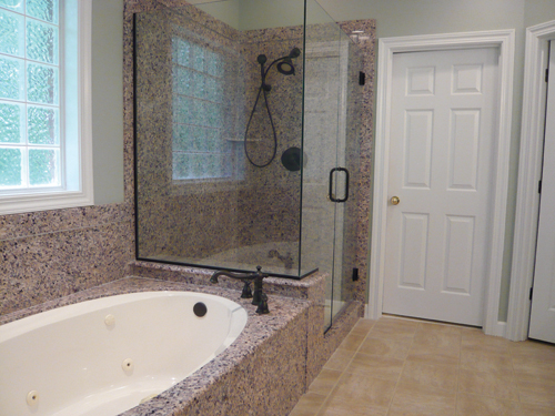 ... Changed Since The 1990s: The Nrxt Photo (below) Shows A Custom Bathtub  And Shower Made With White Cultured Marble, Now Known As Engineered  Composite.