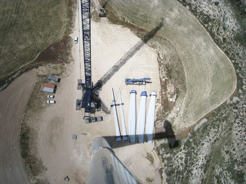 wind blade segments, wind energy