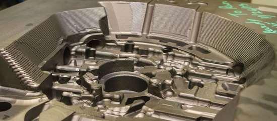 transmission component mold