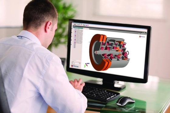 3D gearbox rendering