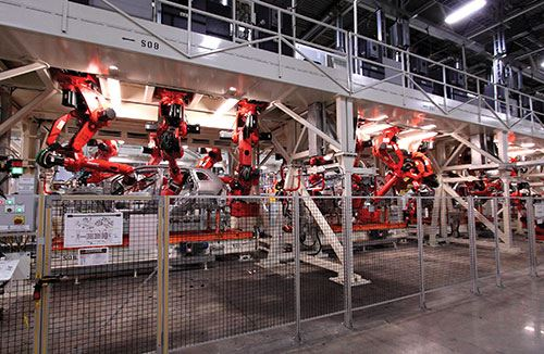 body welding stations