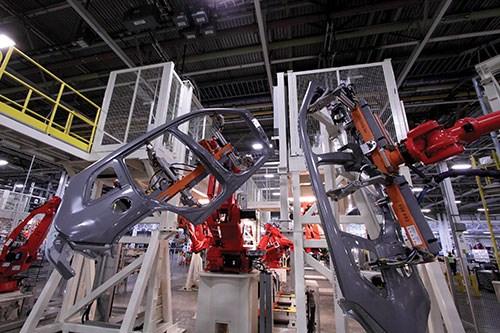 robotic part handling