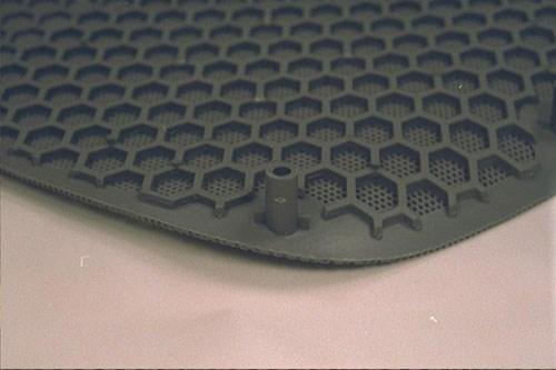 enhanced venting material