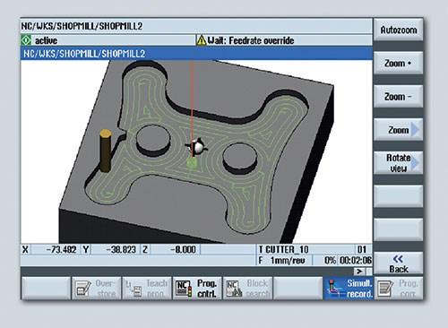 CNC contour calculator